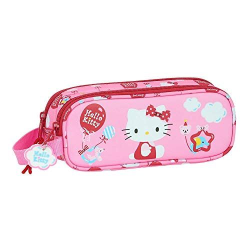 Trousse Double Hello Kitty 210 x 60 x 80 mm