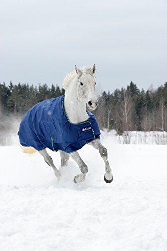 Bucas Smartex Medium Regendecke Winterdecke Blau 115-165 (155)