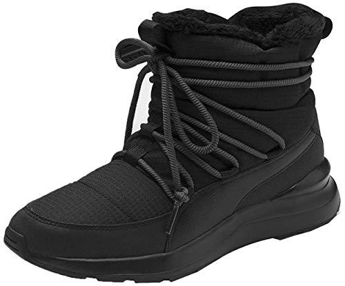 PUMA Damen Adela Winter Boot Schneestiefel, Black-Bridal Rose, 39 EU