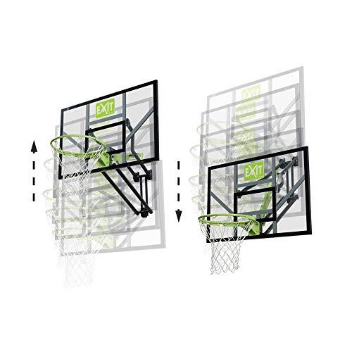 EXIT Galaxy Basketballkorb zur Wandmontage - grün/schwarz