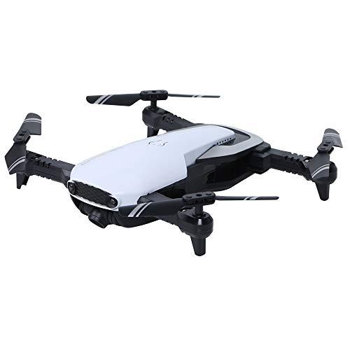 XuBa Fixd Aircraft Drohne faltbar RC Drohne 2,4 G 4 Ch 360 Grad Flip 0,3 MP / 2,0 MP HD Kamera RC Quadcopter vs E511 E511S Mavic Air E58 Geburtstagsgeschenk für Kinder 0.3mp 1 Battery White