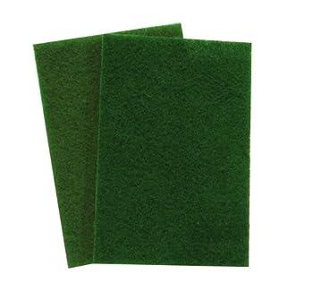 3M 08293 Scotch-Brite General Purpose Scouring Pad Green 20-Pack