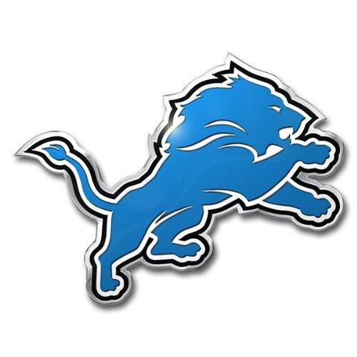 NFL Detroit Lions Die Cut Color Automobile Emblem