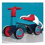 Rrunzfon Bicicletas para Bebés Bicicletas De Equilibrio Bicicletas Sin Pedales para Niños Y Niñas Adecuado para Niños Pequeños De 1 A 3 Años Bicicletas para Principiantes-Blue