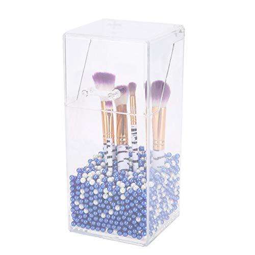 Uxsiya Caja de Almacenamiento de Maquillaje Perlas de Soporte de Maquillaje exquisitas...