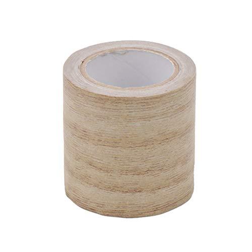 Rollo de cinta adhesiva realista para reparación de muebles, imitación de madera, 8 colores, 5 3
