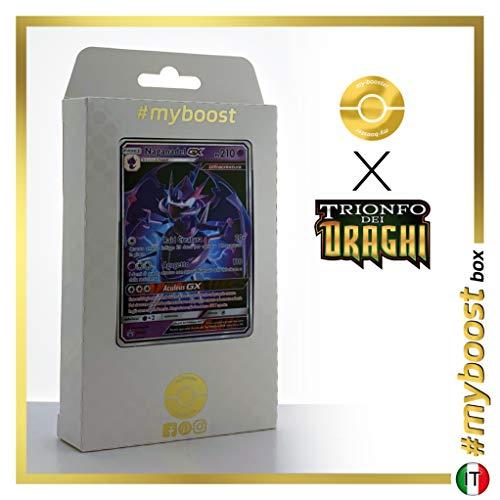 Nagadel-GX SM125 - #myboost X Sole E Luna 7.5 Trionfo dei Draghi - Box di 10 Carte Pokémon Italiane