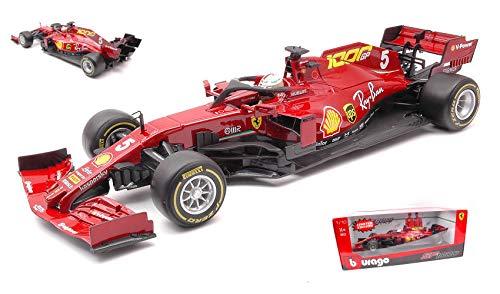Ferrari SF1000 F1 #5 Sebastian Vettel 1000th Ferrari Formel1 GP, Toskana 2020 Bburago 1:18