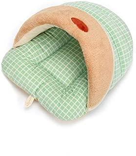 Joyfeel Buy 4/Piece Hanging Storage Bag in cotone e lino colore solido combinato da appendere alla parete borsa tasca per casa ufficio hotel