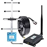 Cell Phone Signal Booster Verizon 4G 5G Signal Booster Band 13 Cell Phone Booster Verizon 4G LTE Network Extender Cell Booster Repeater Home 4G 5G Booster Yagi Antennas 65dB Boosts Data/Voice FUSTAR