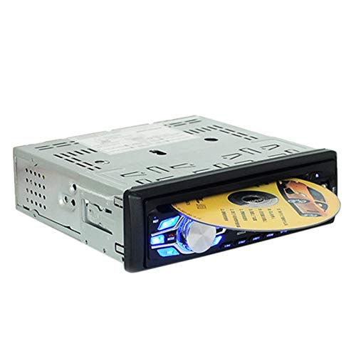 TOOGOO Auto Radio Audio Stereo Mp3 Player DVD Cd Player 1 Din 12V Freisprecheinrichtung Indash Auto Radio Bt Mit Fernbedienung DVD Player 5014