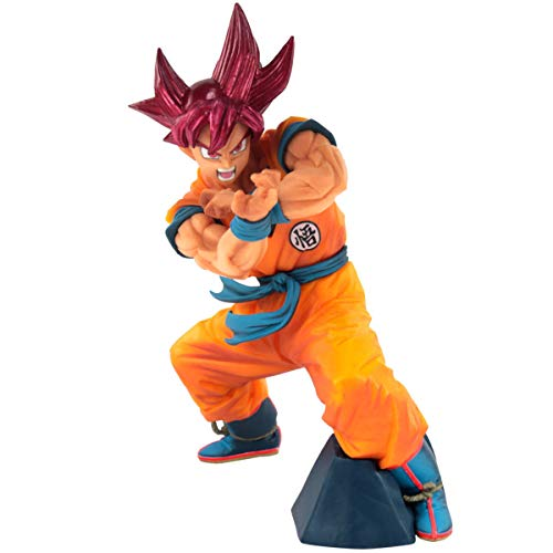 Figure Dragon Ball Super Blood of Saiyans Special VI Super Saiyan God Son Goku Ref. 29826/29827, BANDAI BANPRESTO