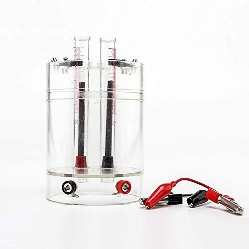 AMITD Electrólisis De Agua Aparato Electrolito Tester Química De Enseñanza Equipo Experimento Aparato, Hidrógeno Y Oxígeno Haciendo