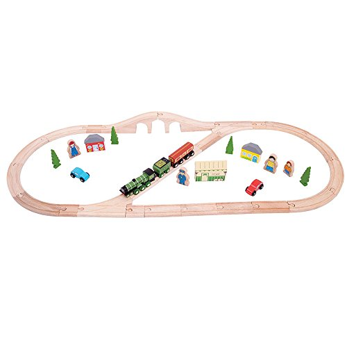 Bigjigs Rail Heritage Collection Flying Scotsman Train – 40 pièces