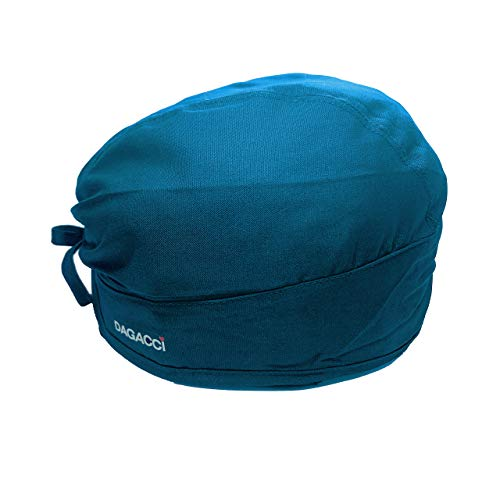 Dagacci Medical Uniform Unisex Scrub Cap (Teal Green)
