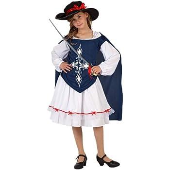 Atosa 6664 - Disfraz de mosquetero para niña: Amazon.es: Juguetes ...