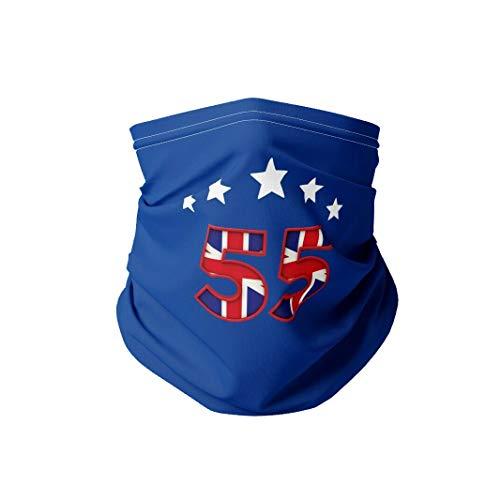 Natural Wraps Glasgow Champios 55 Stars Face Mask Cotton Snood/Neck Gaiter UK Made