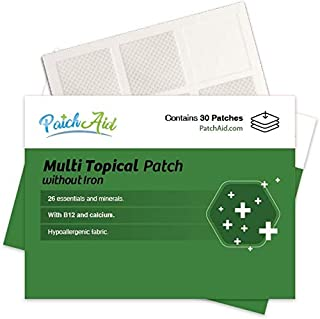 Multi Plus Topical Patch Without Iron by PatchAid (1-Month Supply)