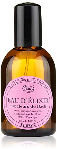 Elixirs & Co - Eau de toilette aux fleurs de Bach - Bien-être - 100% Naturel - VEGAN - BIO - MADE IN FRANCE - Audace - Eau de toilette stimulante - 115ml