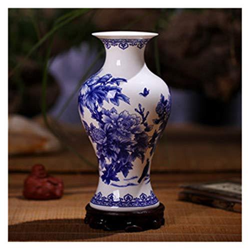 xinxinchaoshi Florero Jingdezhen jingdezhen jarrones de Porcelana Azul y...