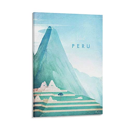 LIANGBO Peru Poster Henry Rivers Poster dekorative Malerei Leinwand Wandkunst Wohnzimmer Poster Schlafzimmer Malerei 08x12inch(20x30cm)