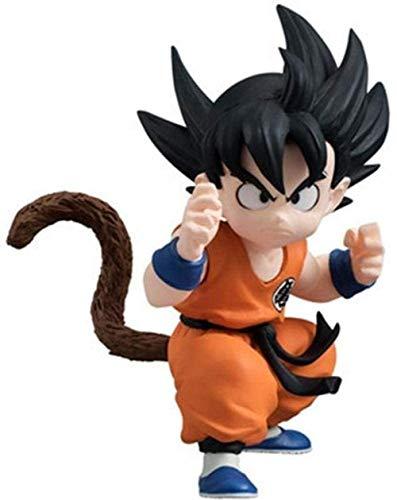 Geburtstagsgeschenk 15 cm Anime Dragon Ball Z Abbildung Dragon Ball Balls Badehose Vegeta 1/8 Skala PVC Action Figure Sammlung Modell Spielzeug Freeza-Red_Hair_Ggoku-Freeza-Kind_Goku KHNN605