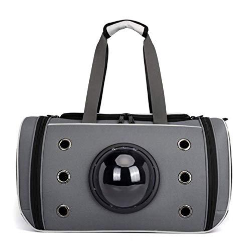 Gpzj Innovativer Rucksack für Haustierträger, Raumkapsel, atmungsaktive Handtasche, tragbarer Haustierhundekoffer, Katzenkäfig