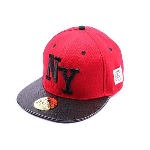 Snapback Nyjbb Couture Rouge - Mixte