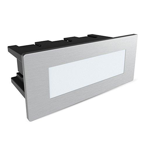 Escaleras lámpara Piko de S, aluminio, Neutralweiß 2.00W 230.00V