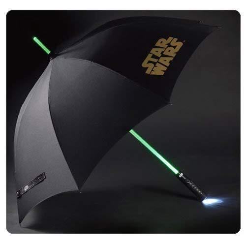 Star Wars Paraguas con luz sable laser...