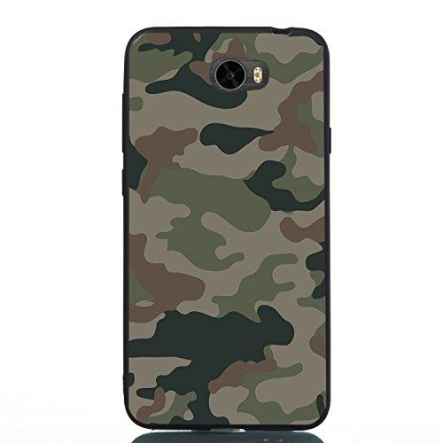 Oujiet-eu BH Funda para Huawei Y5II CUN-L22 CUN-L01 Funda TPU Suave Silicone Carcasa Case Cover 13