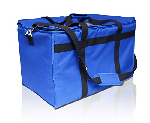 Insulated Food Delivery Bag - Use Our Commercial Grade Catering Bag to Transport All Your Food. Our Thermal Food Carrier with Extra Insulation Will Keep Food Hot Or Cold.