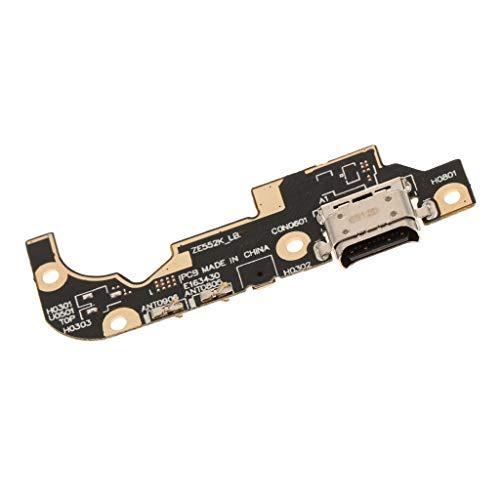 B Baosity Reemplazos de Conector USB de Cargador Compatible para ASUS Zenfone 3 ZE552KL Piezas de Instalación