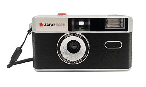 35mm análisis Foto cámara Negro