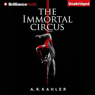 The Immortal Circus audiobook cover art