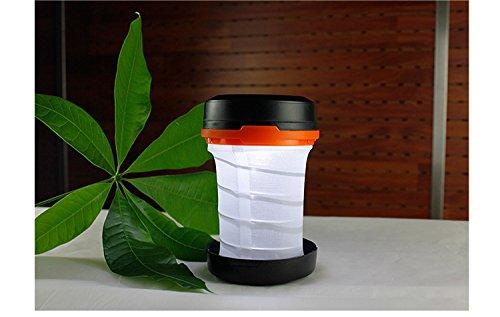 Superb Right portable Outdoor LED Lanterne de camping – exgeschützt Batterie légère, résistant à l'eau, Home, camping, cas d'urgence, Hurricanes, tentes Lampe éclairage