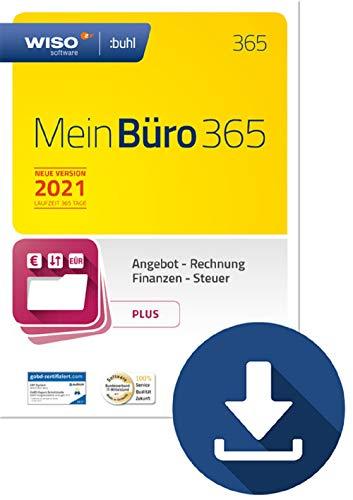 WISO MeinBüro 365 (2021) Plus | PC Download | Bürosoftware, Rechnung schreiben, Umsatzsteuervoranmeldung, Buchhaltung u.v.m