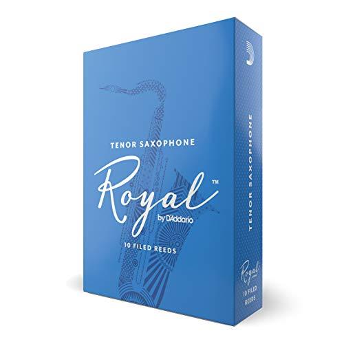 d'Addario RKB1030 Confezione da 10 Ance Rico Royal per Sassofono Ten
