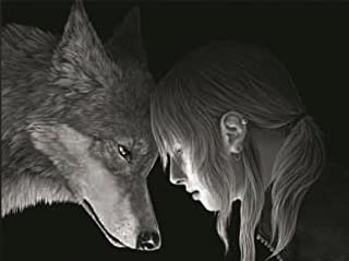 WOLF CONNECTION 3D UNFRAMED Holographic Wall Art-Lenticular Technology Causes The Artwork To Have Depth and Move-HOLOGRAM Style Images-HOLOGRAPHIC Optical Illusions By THOSE FLIPPING PICTURES