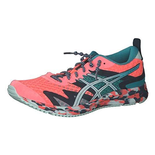 ASICS Womens Gel-Noosa TRI 12 Running Shoe, Sun Coral/Bio Mint,40.5 EU
