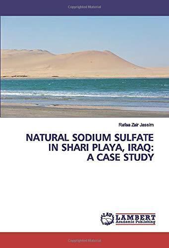 NATURAL SODIUM SULFATE IN SHARI PLAYA, IRAQ: A CASE STUDY