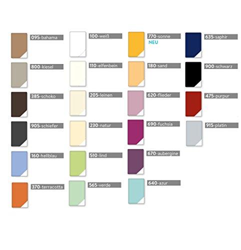 Estella Zwirn-Jersey Topper Spannbetttuch Spannbettlaken für Topper von 7-10 cm in allen Größen und verschiedenen Farben GRATIS 1x SCHAL GRATIS (180x200 cm, weiss (100))