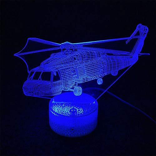SZ&LAM Lampe De Nuit 3D, 7 Changement De Couleur LED Tactile USB Table Cadeau Enfants Jouets Décorations Décorations Noël Saint Valentin Cadeau Cadeau d'anniversaire