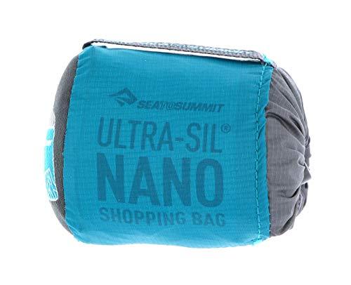 SEA TO SUMMIT Ultra-SIL Nano Shopping Bag Saco Montañismo, Alpinismo y Trekking, Adultos Unisex, Azul (Blue), Talla Única