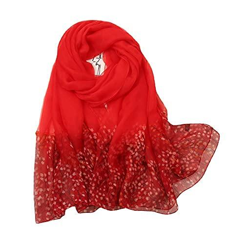 Toalla de seda de viaje protector solar toalla de playa toalla grande señoras bufanda de seda nueva bufanda de seda de seda nueva