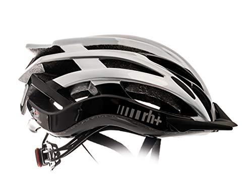 Zero RH+ - Casco de Bicicleta Twoinone, Unisex, para Adulto, Color Blanco,...