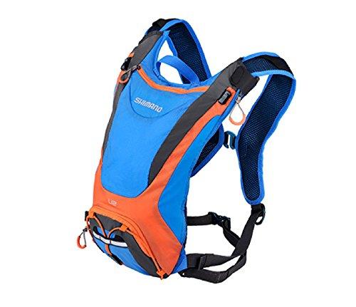 SHIMANO BGDPMAN206U60 - Mochila SH Unzen 6l Azul/Naranja V15