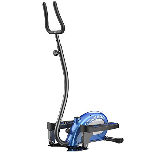 Find Discount YUNQI Home Elliptical Stepper,with Handle Hand Grip Thin Waist Slimming Exercise Equip...