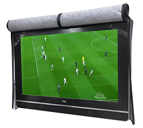 """A1Cover Outdoor 40""""-43"""" TV Set Cover,Scratch Resistant Liner Protect LED Screen Best-Compatible with Standard Mounts and Stands (Black) …"""