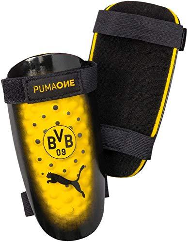 PUMA BVB Borussia Dortmund One 5 Schienbeinschoner (L, Black/Yellow)